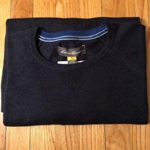 Eddie Bauer Blue Navy Sweater XL